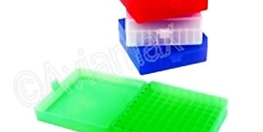 100 Place Hinged Polypropylene Storage Boxes 56mm Height