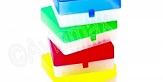 100 Place Hinged Polypropylene Storage Boxes 63mm Height