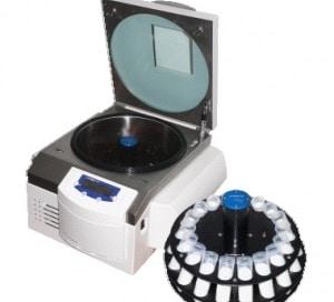 Infra red centrifuge
