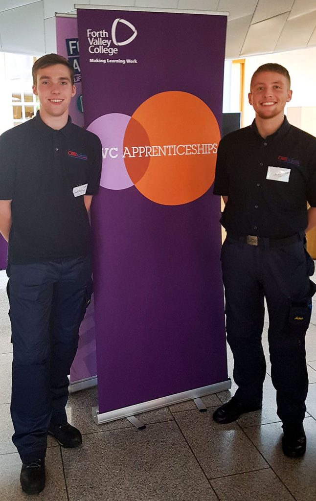Engineer Apprentices at Parliament