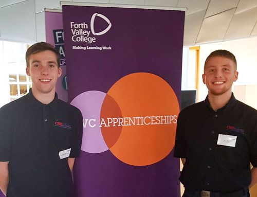 Our Apprentices give their Experience to the Scottish Parliament