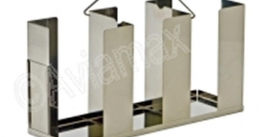 Stainless Steel Petri Dish Racks for Dishes 90mm to 100mm