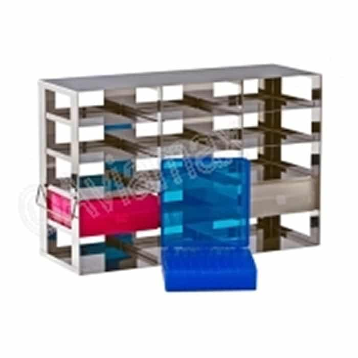 Stainless Steel Side Access Rack for Hinged Lid Boxes 141x155x56mm