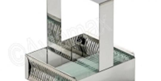 Stainless Steel Slide Staining Rack for 24 Slides