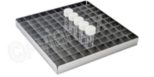 Tray with 29mm Aluminium Dividers