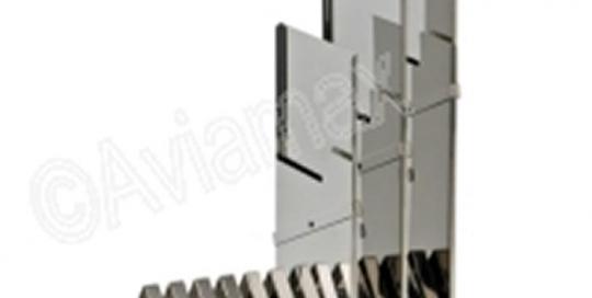 Vertical Cassette Rack